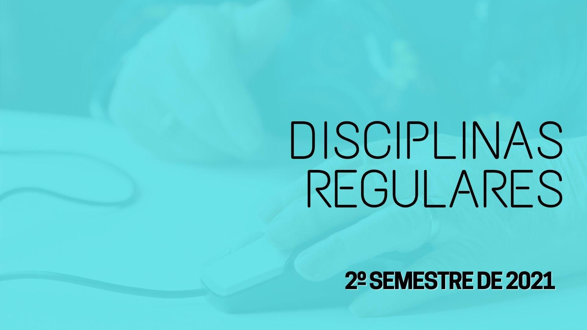 disciplina regular 2 semestre