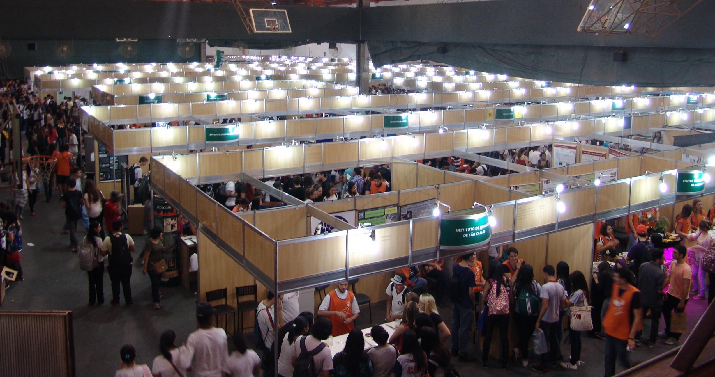 Feira de Profissões da Universidade de São Paulo