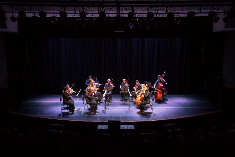 Orquestra de Cordas em apresentação no SESC Santo André