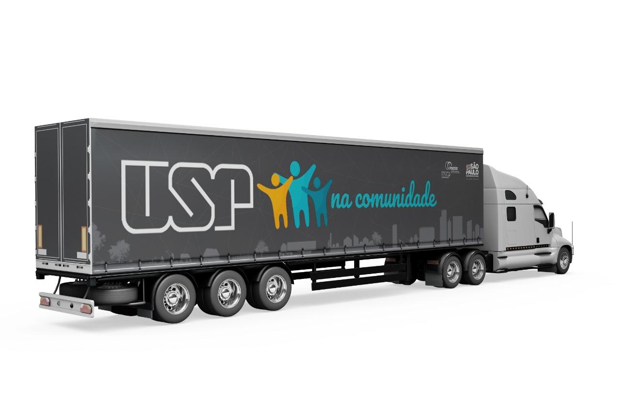 USP lança projeto móvel social com atividades culturais e científicas